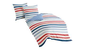 Mako Satin Bettwäsche  Streifen