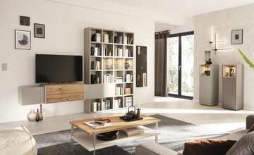 Wohnwert Regalkombination  Media Design