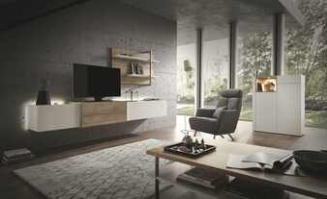 Wohnwert Wohnwand  Media Design