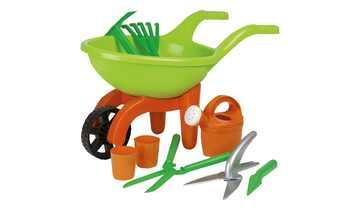 Schubkarre mit Gartenwerkzeug, 9-teilig  Simba