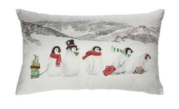 LAVIDA Kissen  Pinguine
