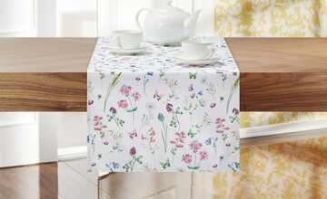 Tischläufer  Wiesenblumen
