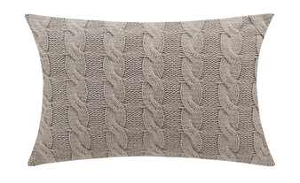 Gray & Jones Kissen Strickoptik  Baltic Breeze