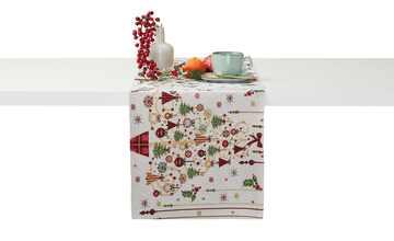 LAVIDA Tischläufer  Goblin Weihnachtsbaum