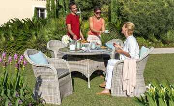 Garten-Sitzgruppe, 5-teilig  Sylt