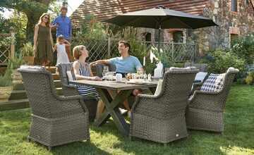 Garten-Sitzgruppe, 7-teilig   Kufstein