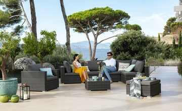 Garten-Sitzgruppe, 8-teilig  Casablanca