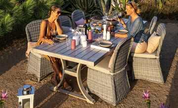 Garten-Sitzgruppe, 7-teilig  Huelva