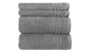 Handtuch-Set Anthrazit, 4-teilig  Soft Cotton