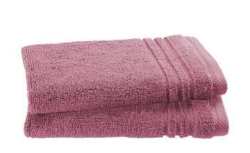 Gästetuch (30 x 50cm), 2er-Set Beere  Soft Cotton