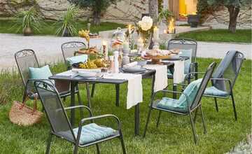 Garten Dining-Gruppe, 7-teilig   Savoy