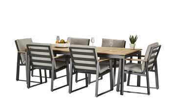 Garten Sitzgruppe, 7-teilig   Reno + Royal Wilbury
