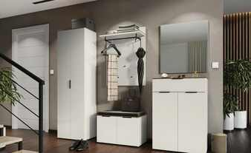 Garderoben-Set, 5-teilig  Kaschmir