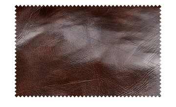 uno Sofa 2-sitzig braun - Leder Chesterfield