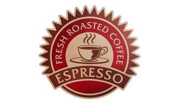 """Cut-Out """"Espresso"""""""