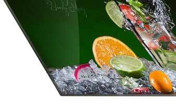 "Glasbild ""Exotic Cocktails"""