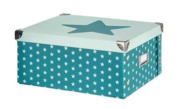 Aufbewahrungsbox  Stars Aqua