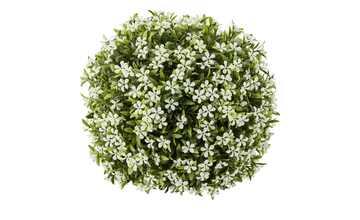 Graskugel mit Blüten