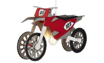 Pendelleuchte, 1-flammig, Motocrossmaschine