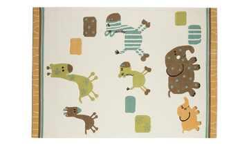 Esprit Handtuft-Teppich  Lucky Zoo