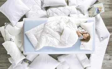 Schlafmond Mono-Steppbett  Dornröschen