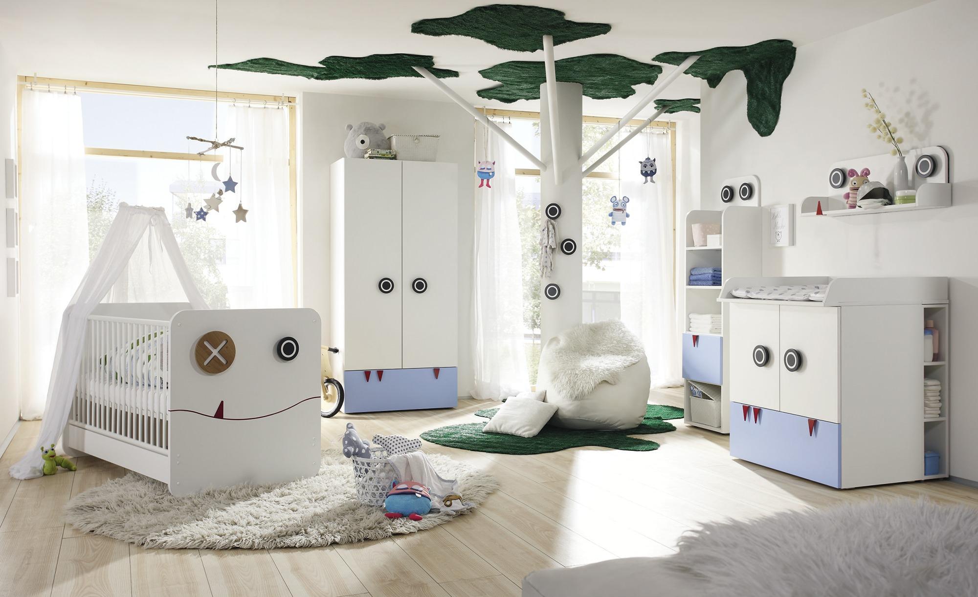 Babyzimmer im niedlichen Monsterlook
