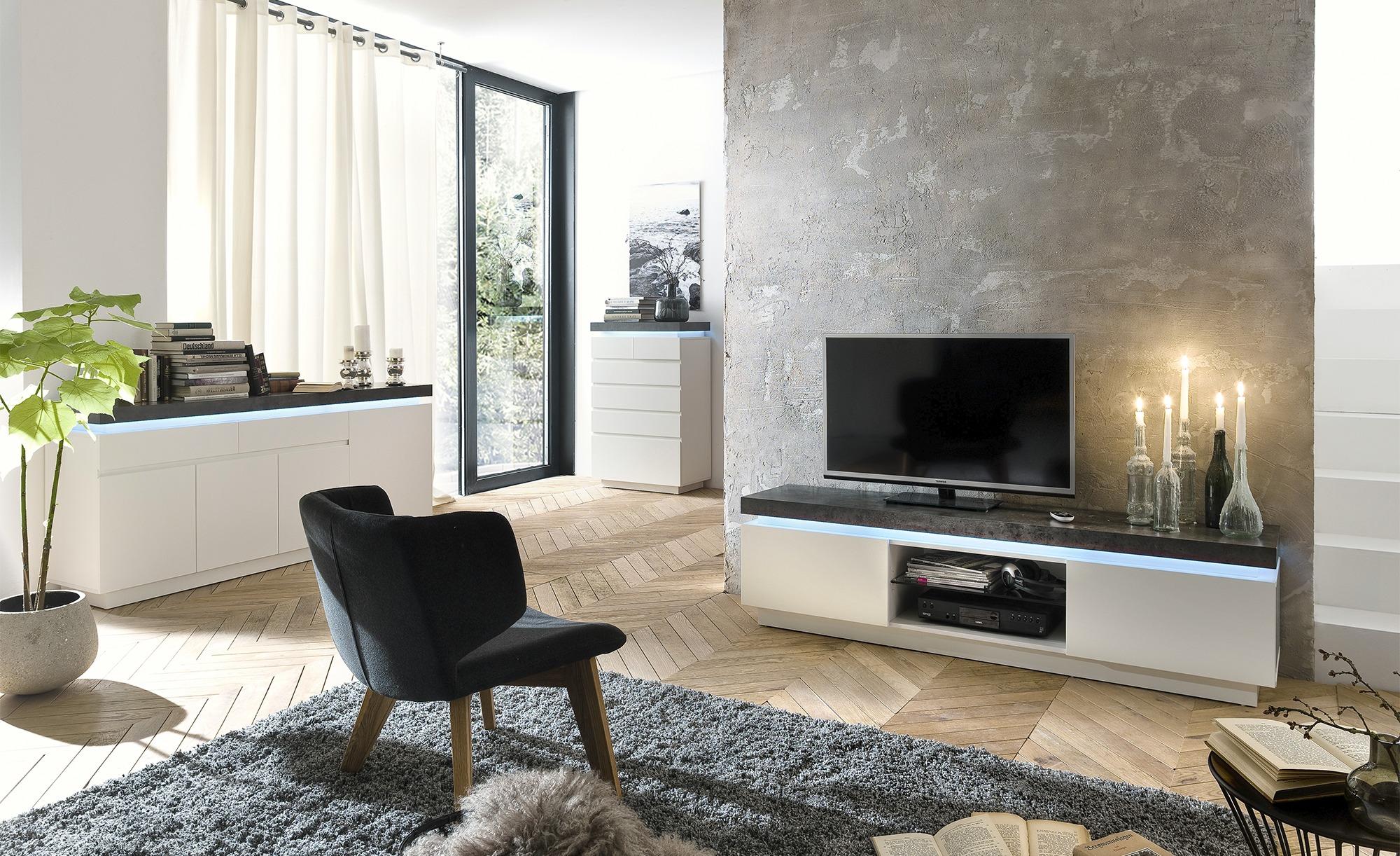 Wohnzimmer-Set Fornico, gefunden bei Möbel Höffner