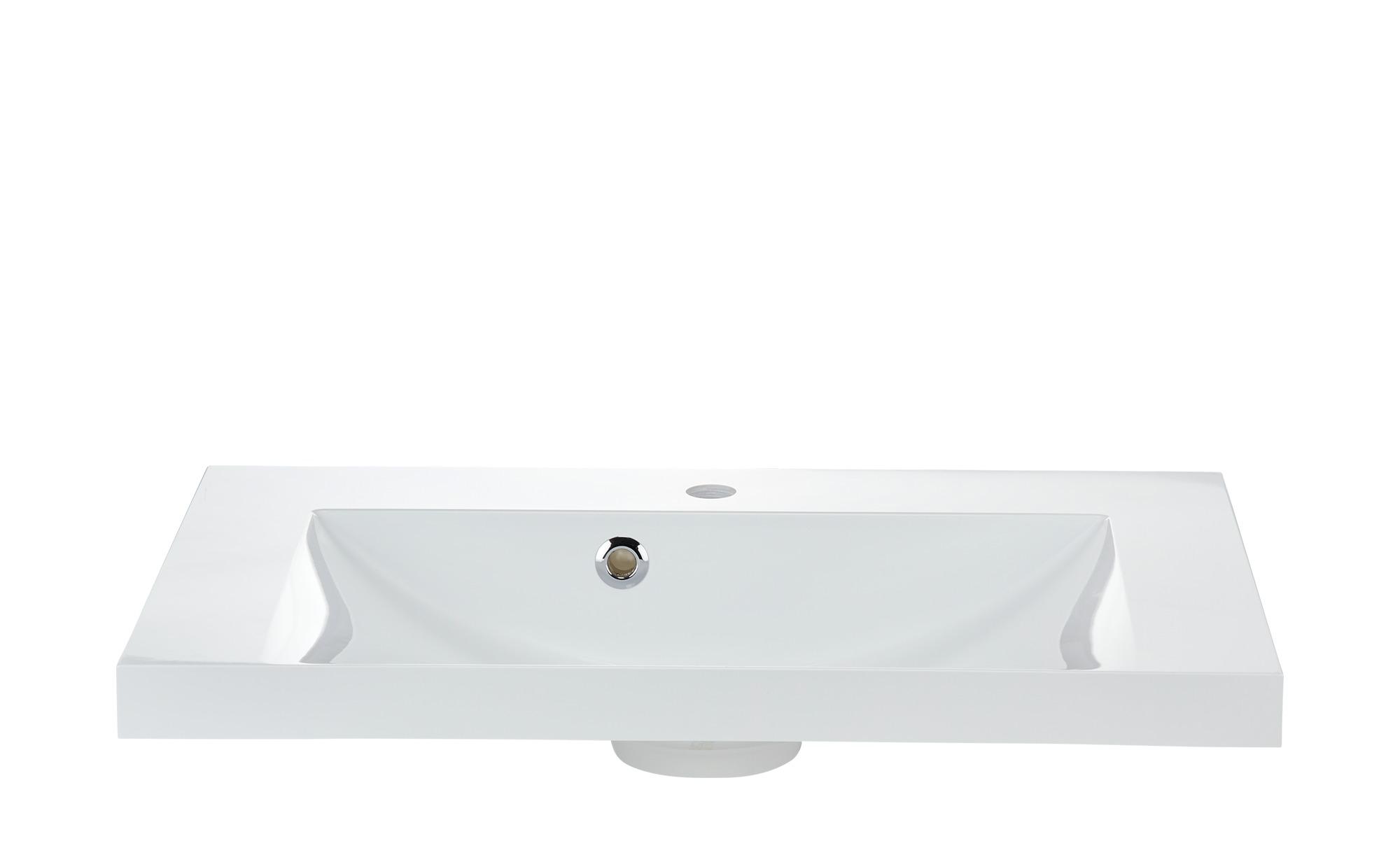 smart Bad-Waschtisch Onda ¦ weiß ¦ Maße (cm): B: 74 H: 5 T: 45 Schränke >  Badschränke > Sanitär-Armaturen - Höffner