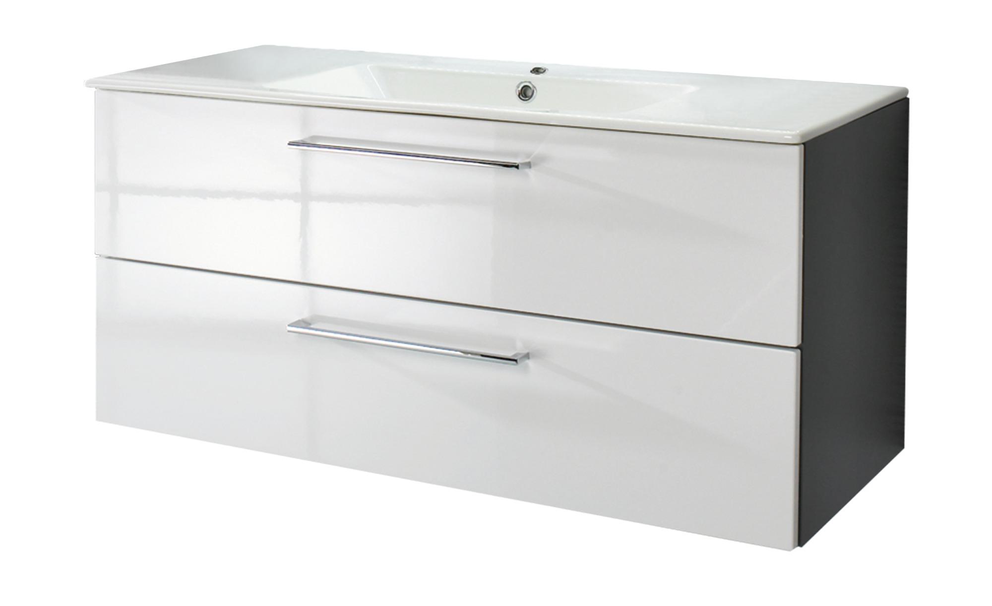 Waschtischkombination Fresdorfer See ¦ weiß ¦ Maße (cm): B: 100 Schränke >  Badschränke > Komplett-Badkombinationen - Höffner