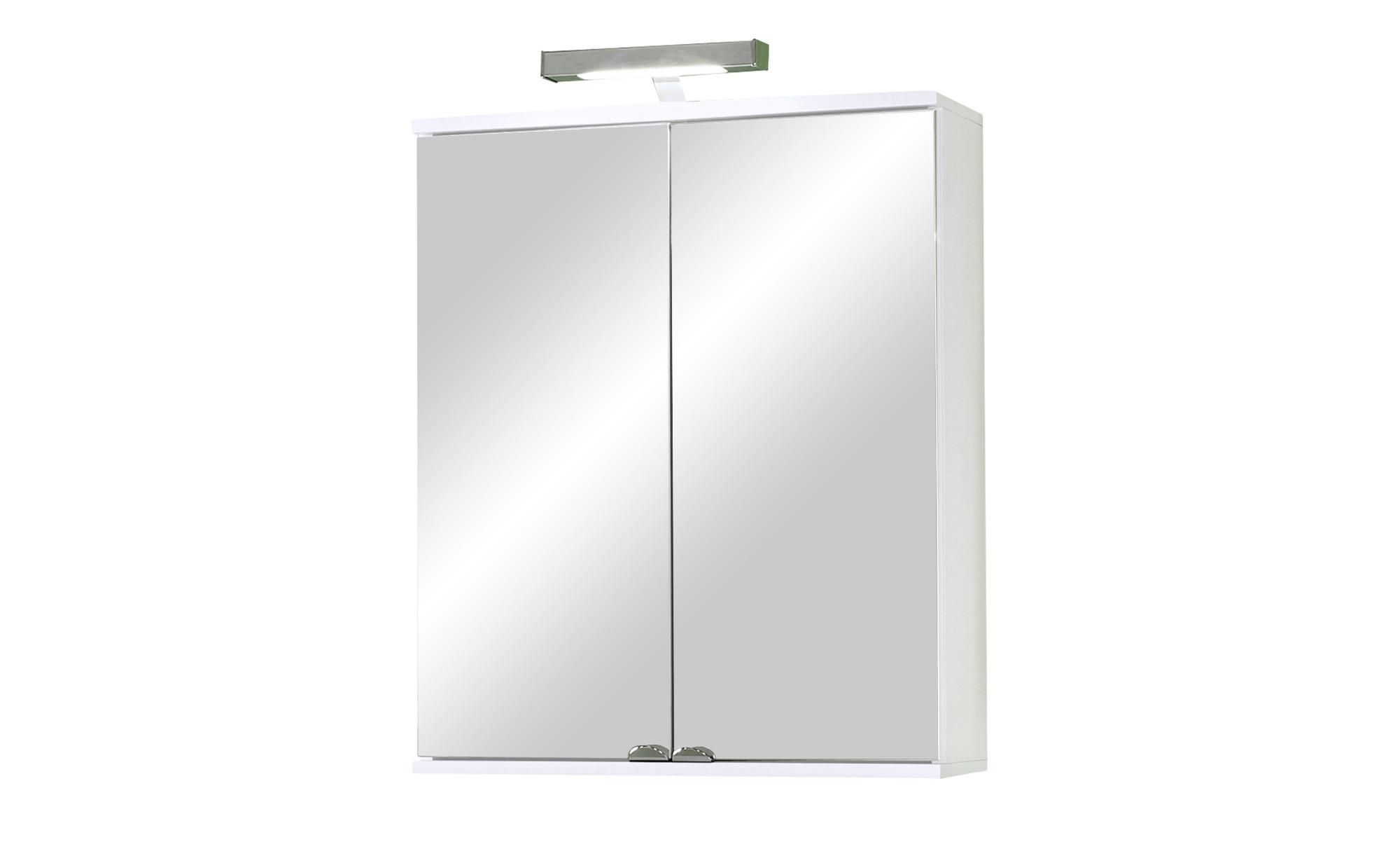 Bad-Spiegelschrank  Ilsesee ¦ Maße (cm): B: 60 H: 70 T: 20 Schränke > Badschränke > Spiegelschränke - Höffner   Bad > Spiegel fürs Bad   Kunststoff - Holz   Möbel Höffner DE