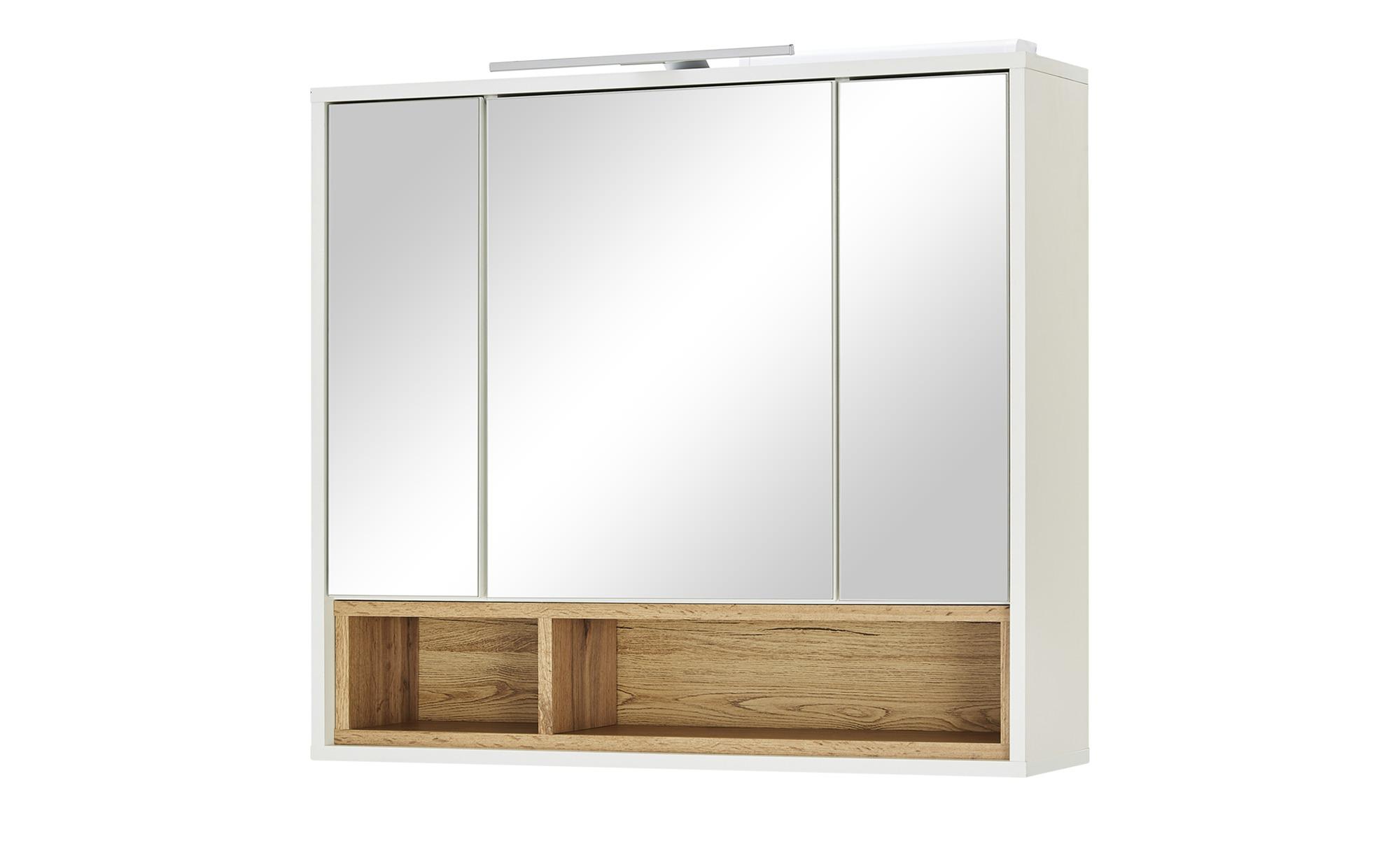 3-türiger Badspiegelschrank mit Beleuchtung 'Maxsee'