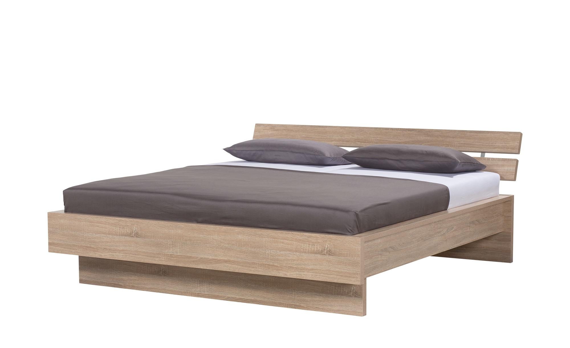 Bettgestell 180x200 Eiche Optik Dublin Holzfarben Maße Cm B 195 H 82 T 223 Betten Doppelbetten Höffner
