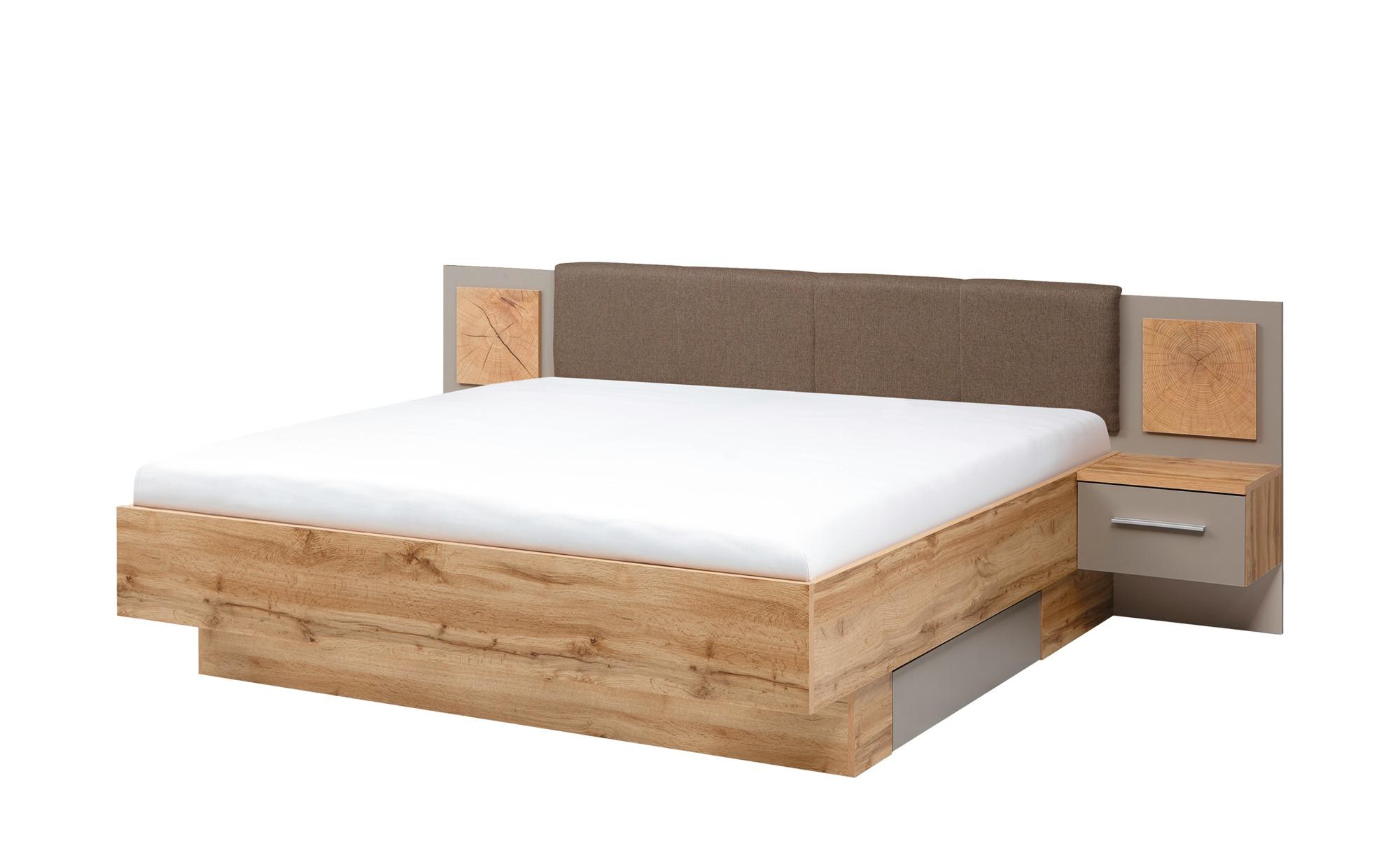 uno Komplett-Schlafzimmer, 3-teilig  Campus ¦ holzfarben ¦ Maße (cm): B: 270 H: 225 T: 61 Komplett-Schlafzimmer - Höffner