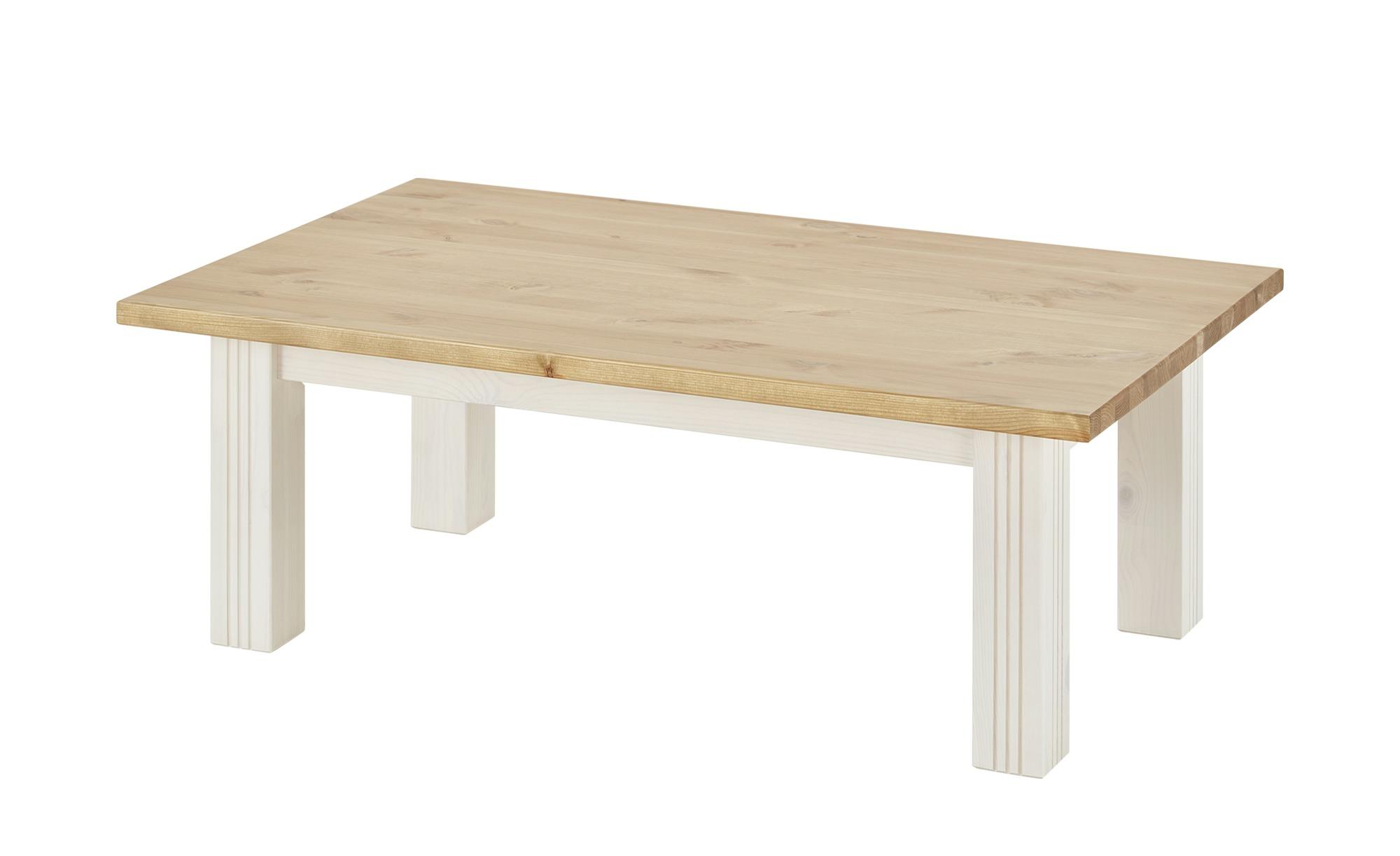 Couchtisch   Bornholm ¦ weiß ¦ Maße (cm): B: 70 H: 42 Tische > Couchtische > Couchtisch Massivholz - Höffner