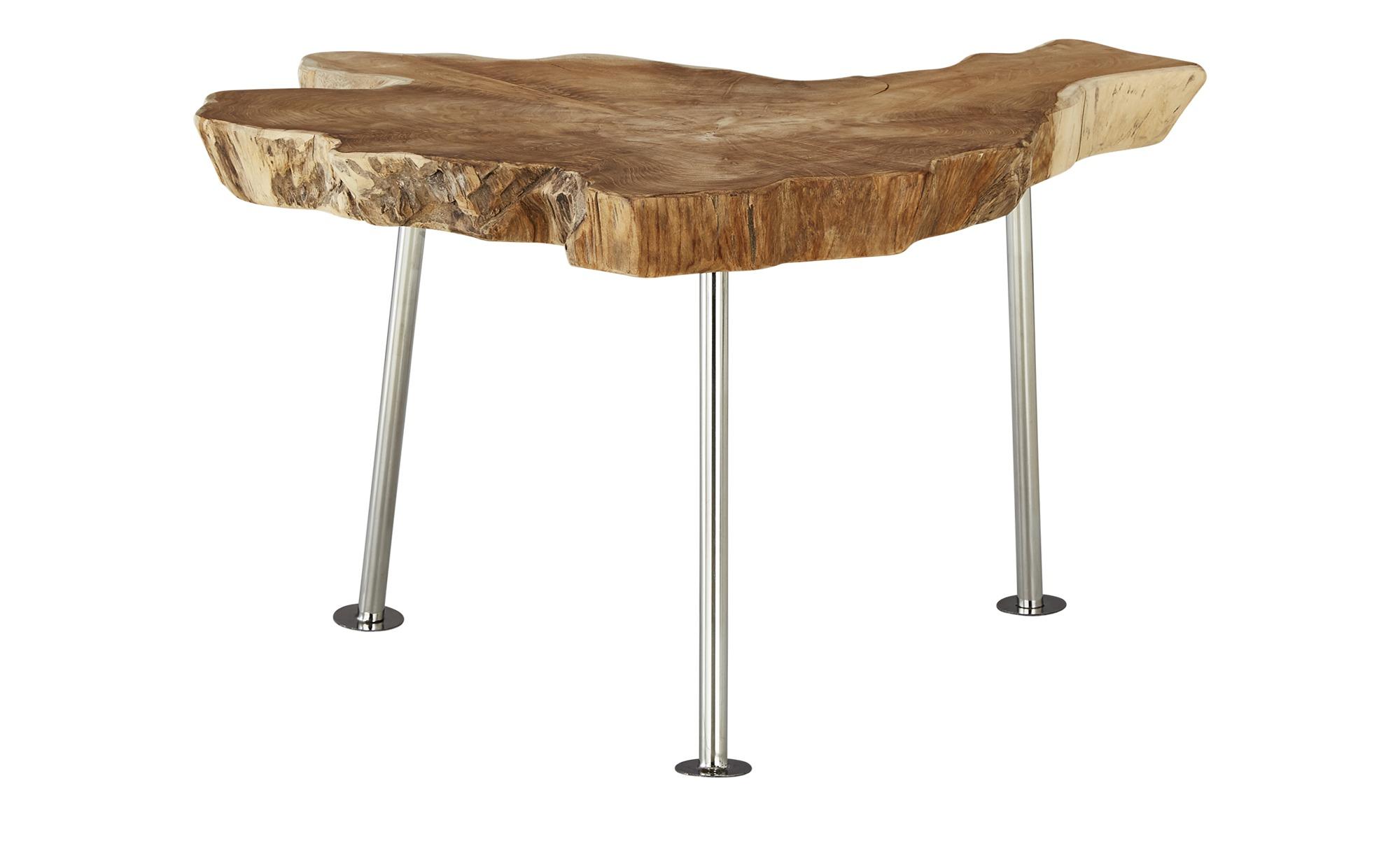 Couchtisch  Wood-S ¦ Maße (cm): H: 50 Ø: [65.0] Tische > Couchtische > Couchtisch Massivholz - Höffner