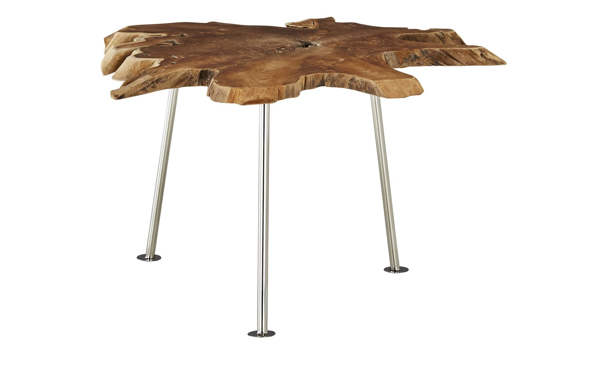 Couchtisch  Wood-M ¦ Maße (cm): H: 40 Ø: [80.0] Tische > Couchtische > Couchtisch Massivholz - Höffner