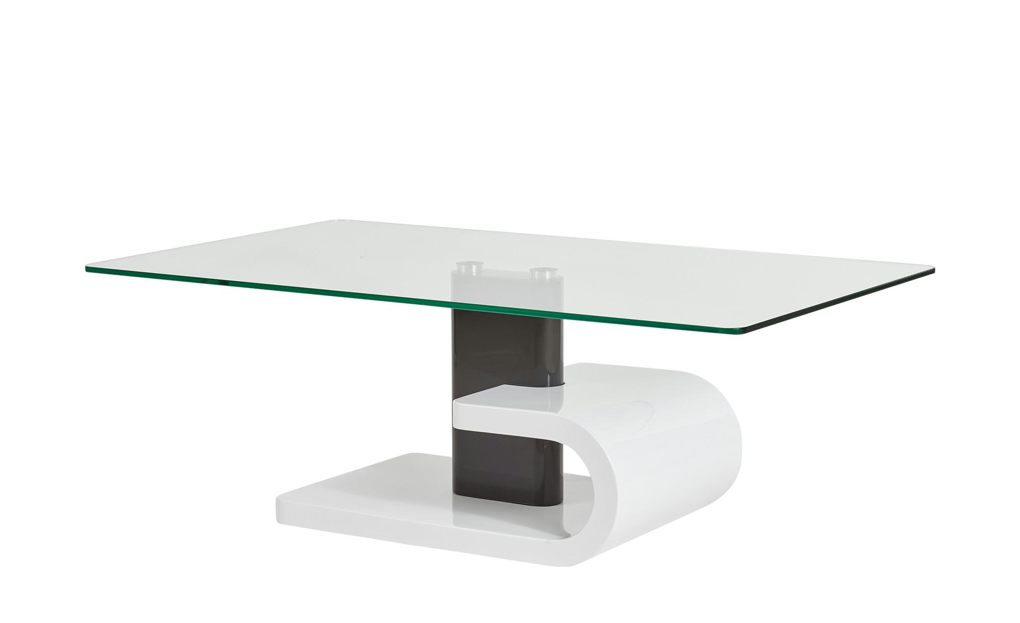 Design-Couchtisch  Jana ¦ weiß ¦ Maße (cm): B: 70 H: 42,5 T: 70 Tische > Couchtische > Couchtische rechteckig - Höffner