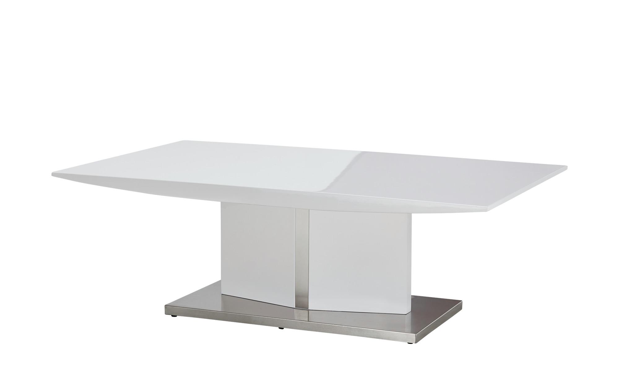 Couchtisch   Hannover ¦ weiß ¦ Maße (cm): B: 120 H: 40 T: 70 Tische > Couchtische > Couchtische rechteckig - Höffner