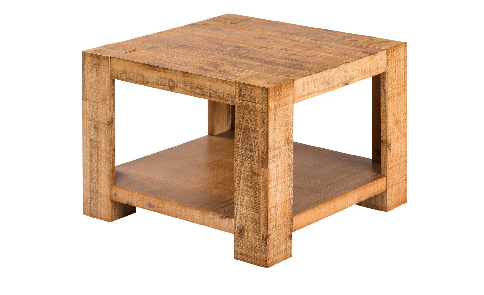 Couchtisch Akazienholz massiv  Tinetto ¦ holzfarben ¦ Maße (cm): B: 60 H: 45 Tische > Couchtische > Couchtisch Massivholz - Höffner
