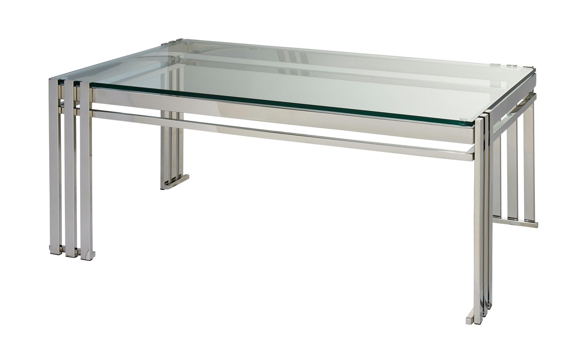 Couchtisch  Tristan ¦ transparent/klar ¦ Maße (cm): B: 120 H: 48 T: 80 Tische > Couchtische > Couchtische rechteckig - Höffner