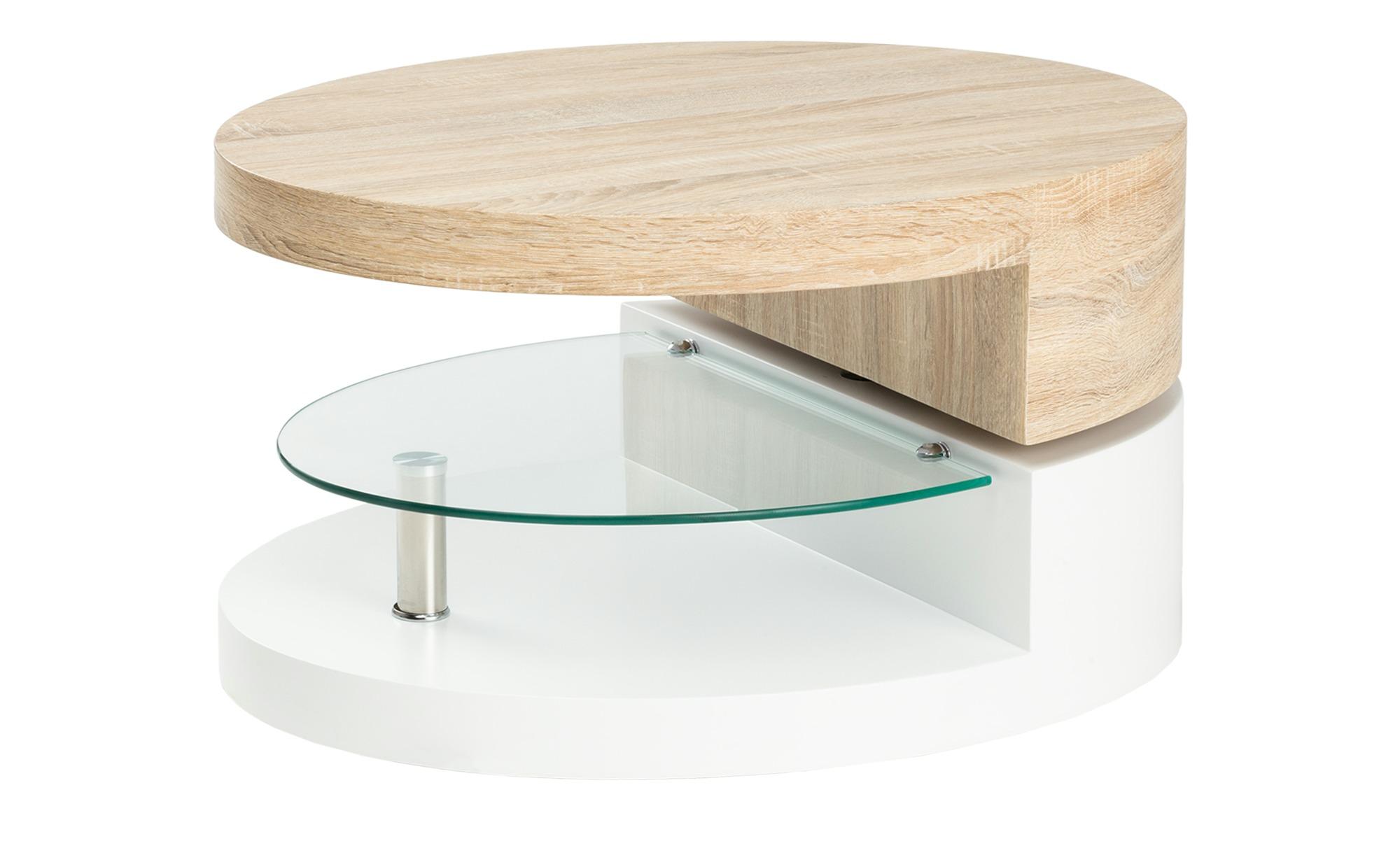 Couchtisch oval drehbar  Burano ¦ mehrfarbig ¦ Maße (cm): B: 60 H: 43 Tische > Couchtische > Couchtische andere Formen - Höffner