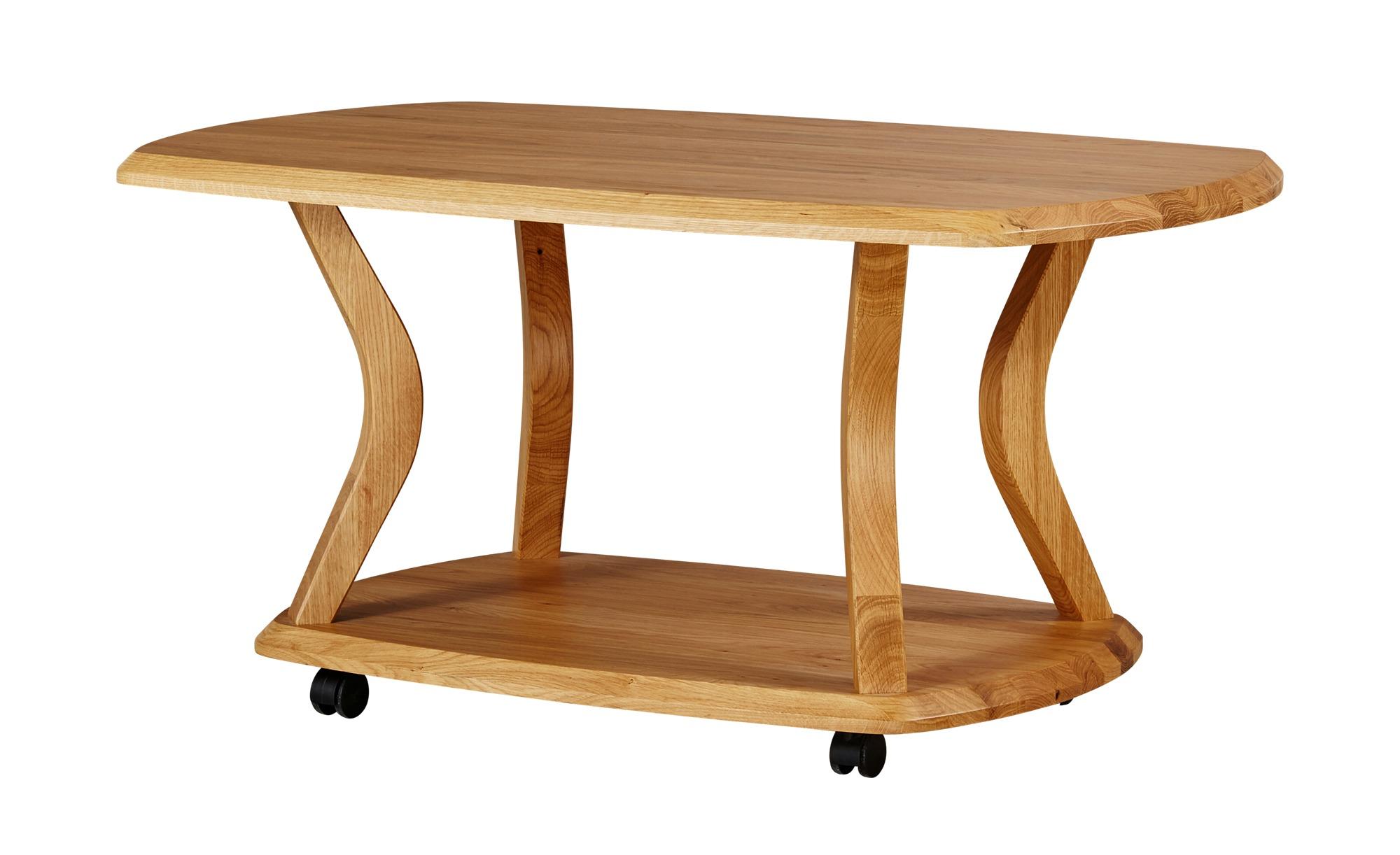 Couchtisch  Heka ¦ holzfarben ¦ Maße (cm): B: 100 H: 48 T: 60 Tische > Couchtische > Couchtisch Massivholz - Höffner   Wohnzimmer > Tische   Holzfarben   Holz   Möbel Höffner DE