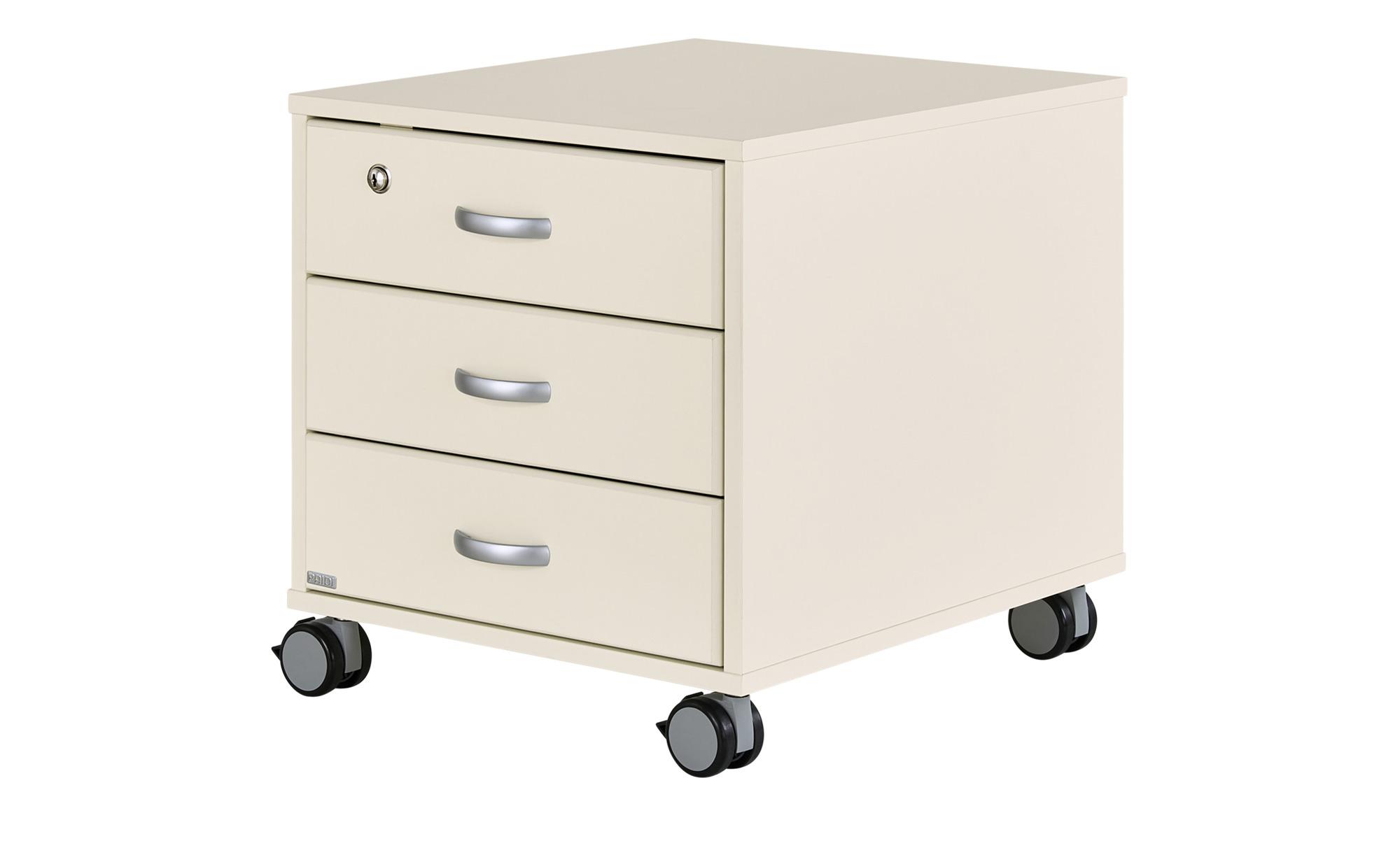 PAIDI Rollcontainer   Marco 2 ¦ weiß ¦ Maße (cm): B: 44,4 H: 51,2 T: 54,7 Schränke > Rollcontainer - Höffner