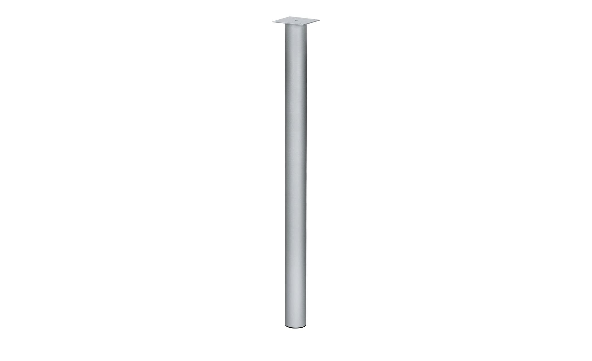 Stützfuß für Tischplatten  Success ¦ silber Tische > Tischbeine - Höffner | Wohnzimmer > Tische > Weitere Tische | Silber | Metall | Möbel Höffner DE