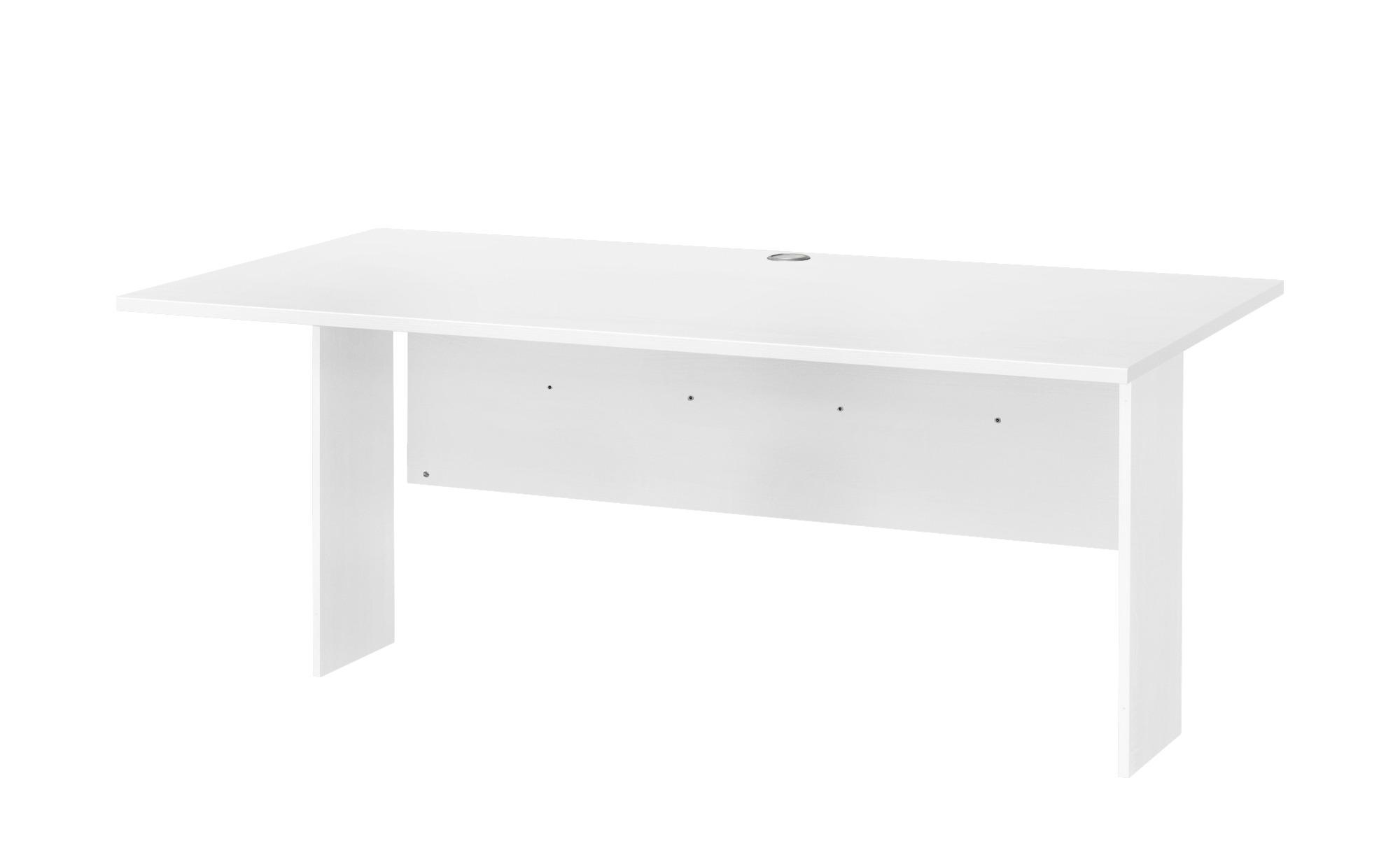 Schreibtischplatte  Success ¦ weiß ¦ Maße (cm): B: 160 T: 80 Tische > Tischplatten - Höffner | Büro > Bürotische > Bürotische-Zubehör | Möbel Höffner DE