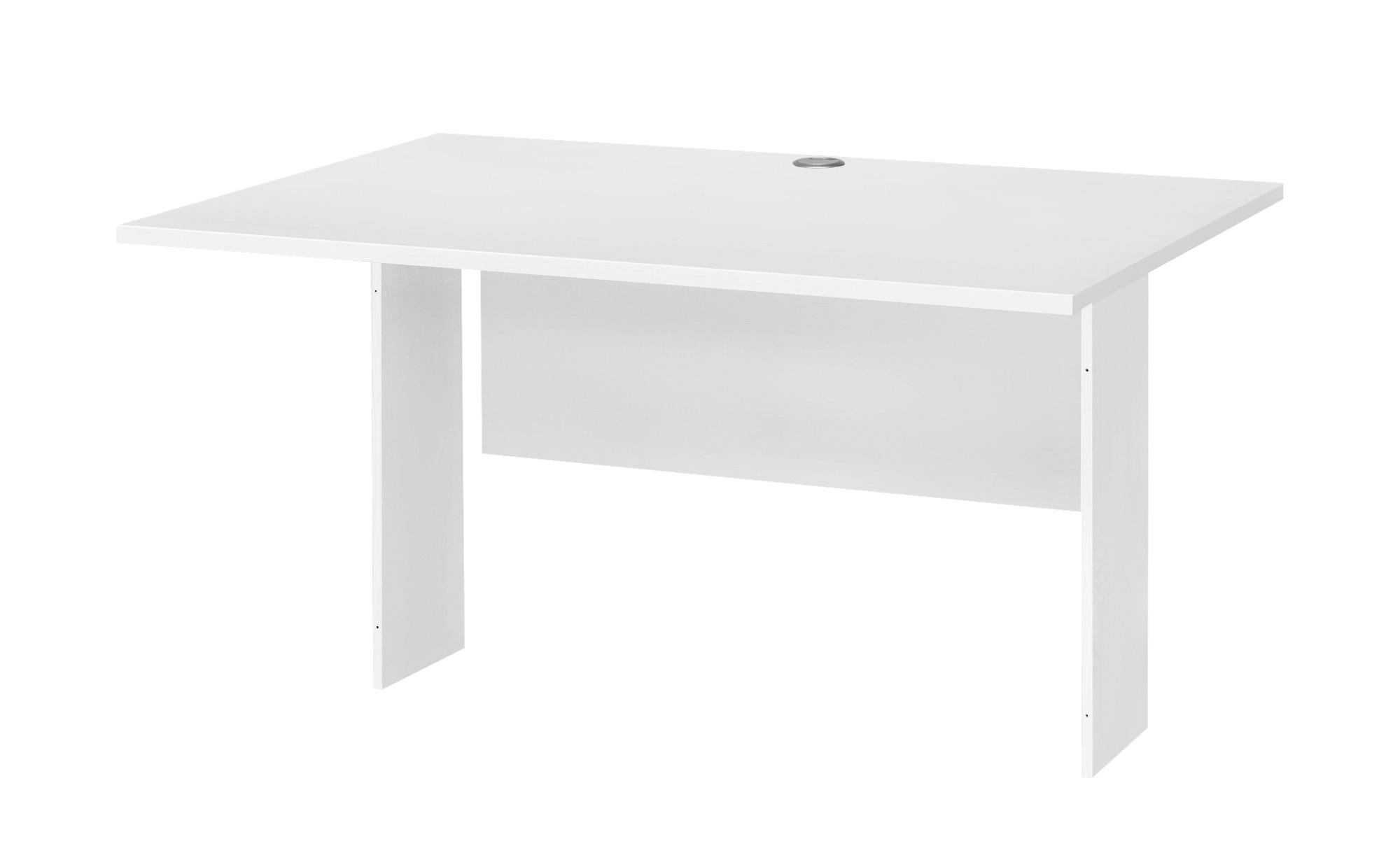 Schreibtischplatte  Success ¦ weiß ¦ Maße (cm): B: 120 T: 80 Tische > Tischplatten - Höffner