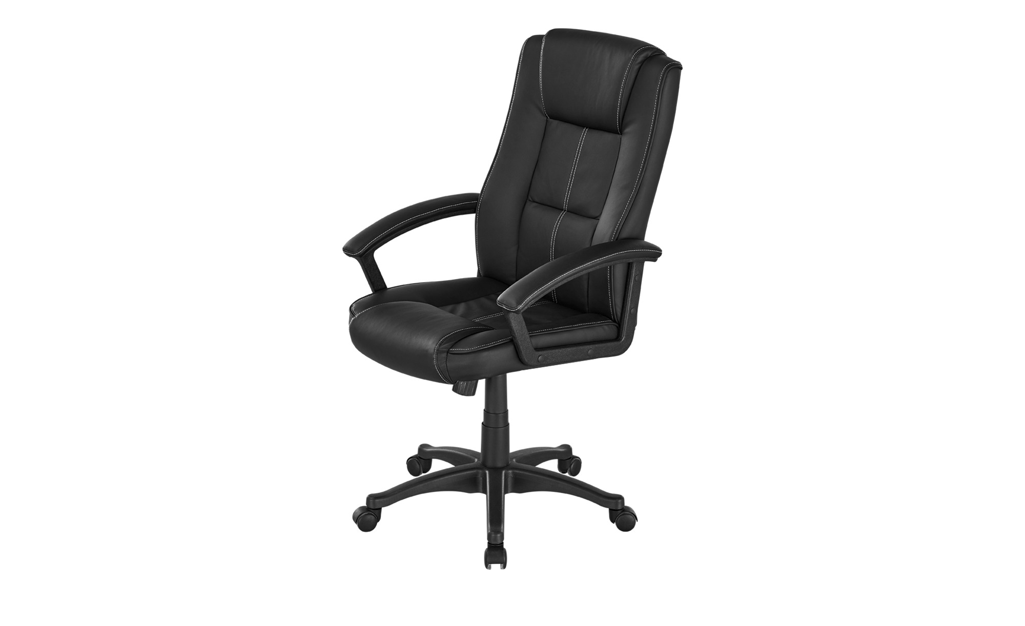 Chefsessel Kunstleder Bibert ¦ schwarz Stühle > Bürostühle > Chefsessel - Höffner