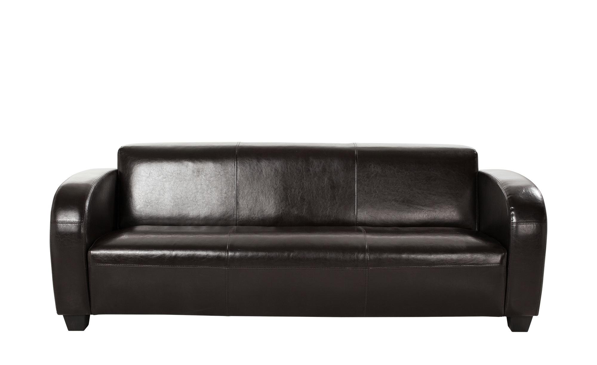 Sofa 3-sitzig  Charlize ¦ braun ¦ Maße (cm): B: 200 H: 68 T: 84 Polstermöbel > Sofas > 3-Sitzer - Höffner