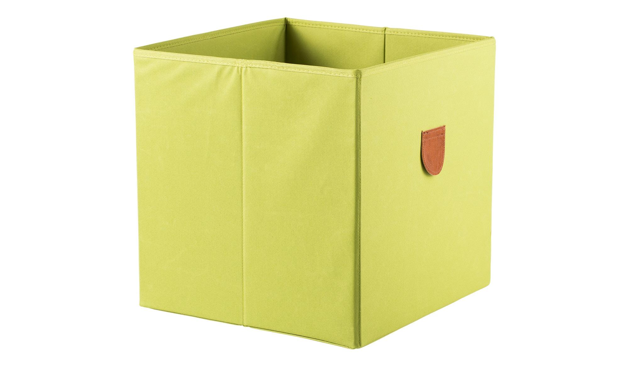 Regalbox ¦ grün ¦ Polyester, Pappe Regale > Regal-Aufbewahrungsboxen - Höffner