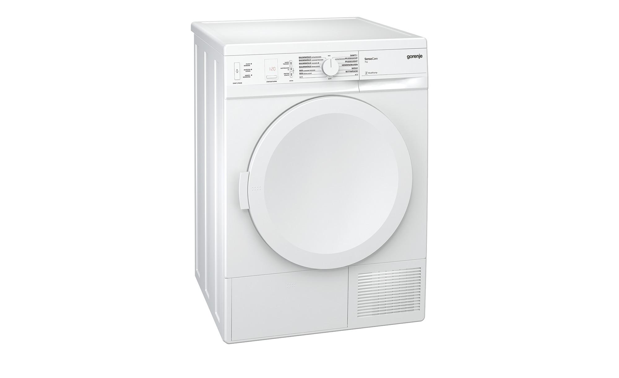 Gorenje Kühlschrank Filter Blinkt : Gorenje wärmepumpentrockner d a möbel höffner